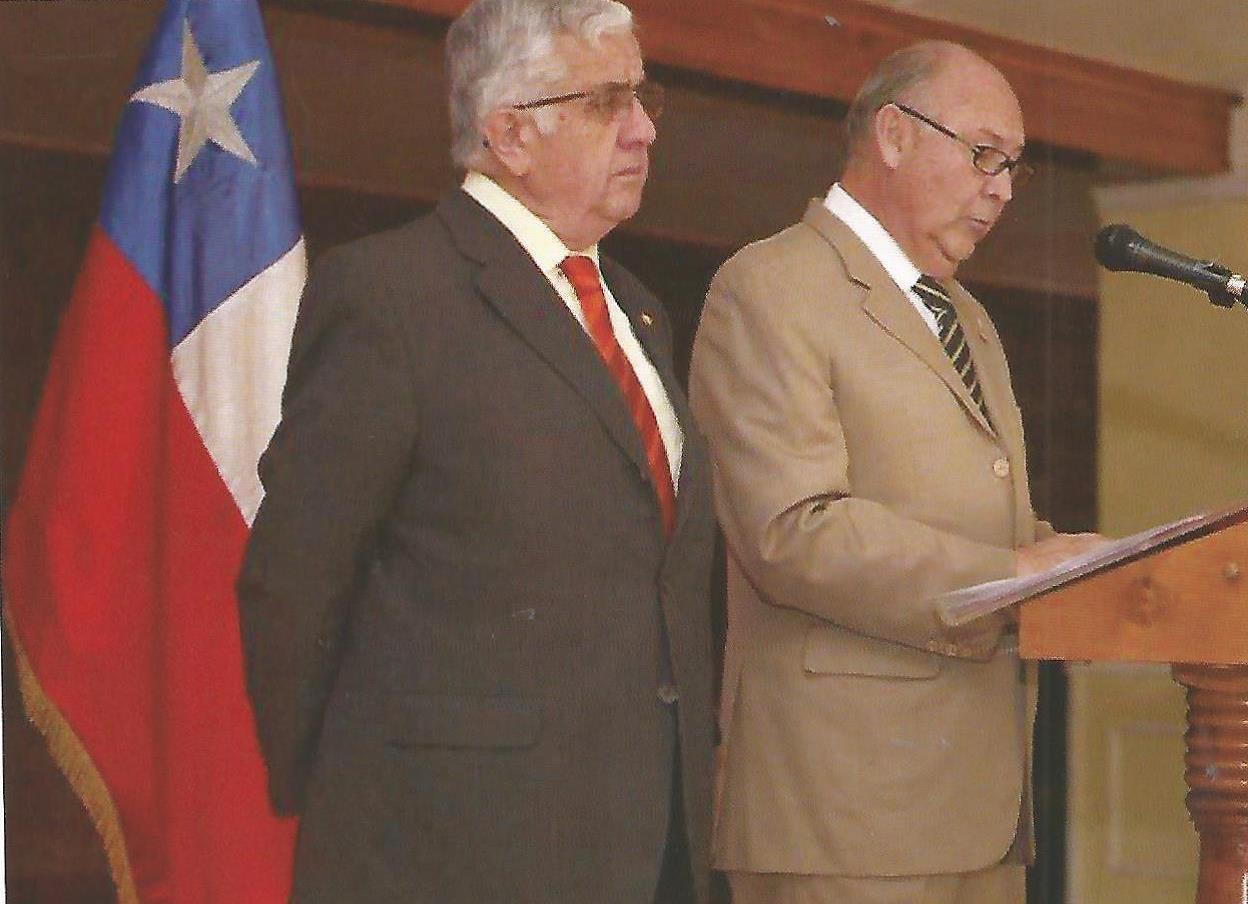 General Ricardo Ortega y General Iván González