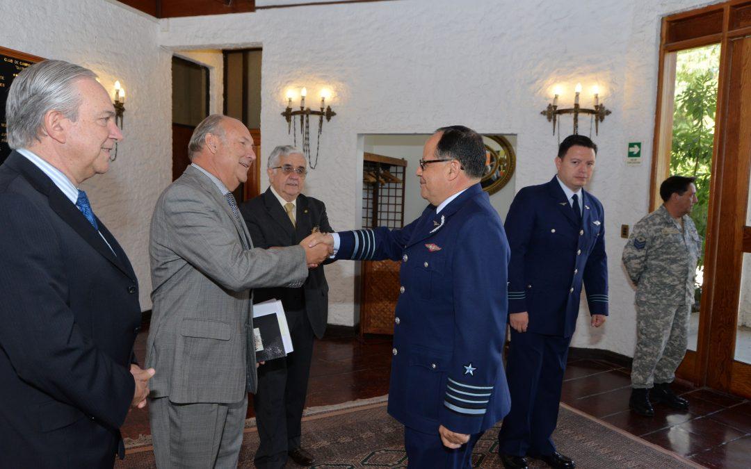 Almuerzo Homenaje Almuerzo homenaje a Fuerza Aérea de Chile por sus 87° Aniversario