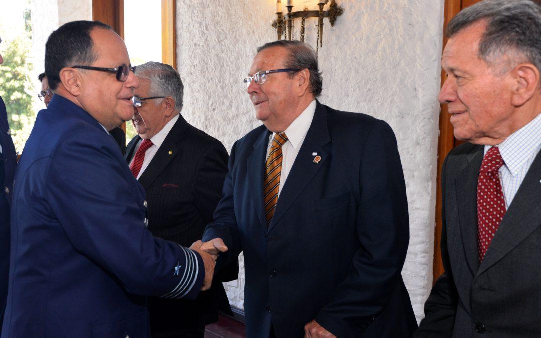 Almuerzo homenaje a Fuerza Aérea de Chile por sus 86° Aniversario
