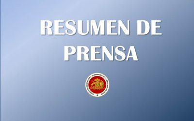 RESUMEN DE PRENSA 17 DE OCTUBRE 2019